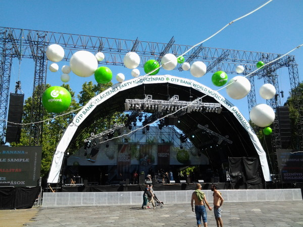 Sziget 2013 - World Party Stage