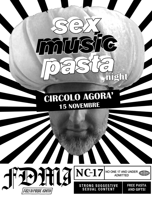 Sex Music Pasta Night