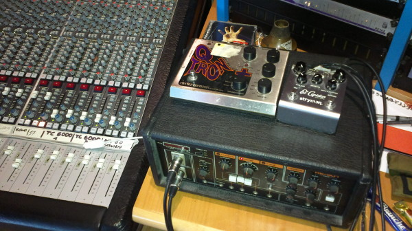 Outboards, Roland tape echo, Blessed Qtron and Unbeatable El Capistan
