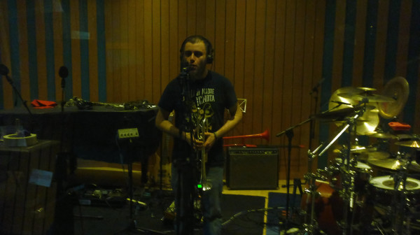 Iasko: producer, lead singer, trumpet player. quite all at the very same time.