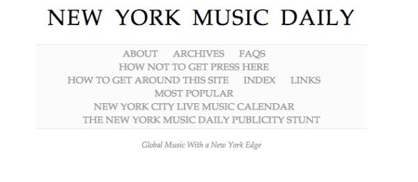 New York Music Daily